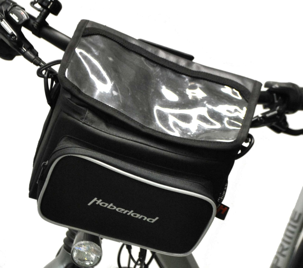 Front travel saddlebags